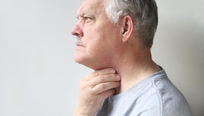 Симптомы рака горла — формы, стадии, причины