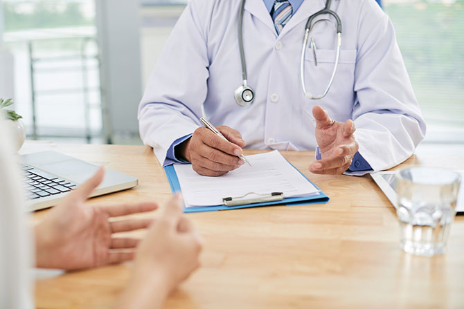 Обращение к врачу при раке поджелудочной железы