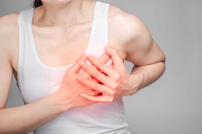 Рак молочной железы (груди) — наиболее частая женская онкология