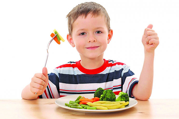 Диета при лечении гемангиомы у ребенка