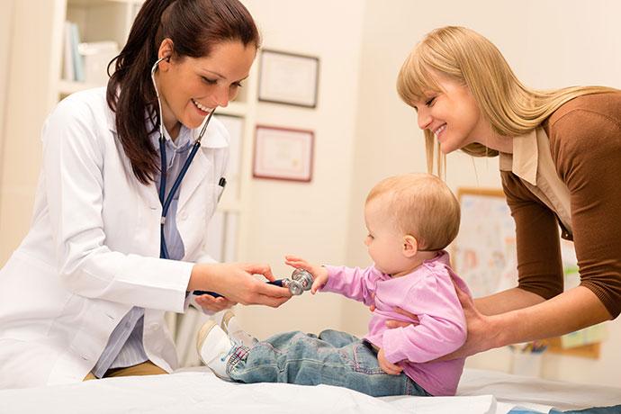Наблюдение за ребенком после лечения гемангиомы