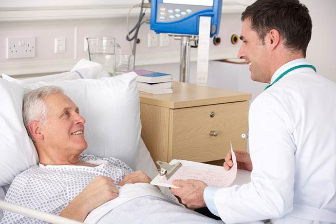 Наблюдение пациента после лечения рака кишечника